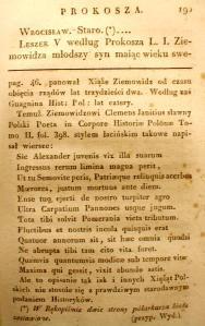 Kronika Prokosza – Rozdział VI - 53