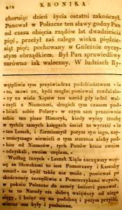 Kronika Prokosza – Rozdział VI - 70