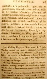 Kronika Prokosza – Rozdział VI - 71