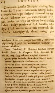 Kronika Prokosza – Rozdział VI - 72