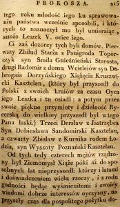 Kronika Prokosza – Rozdział VI - 73